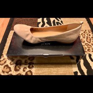 Jcrew Anya suede shoes
